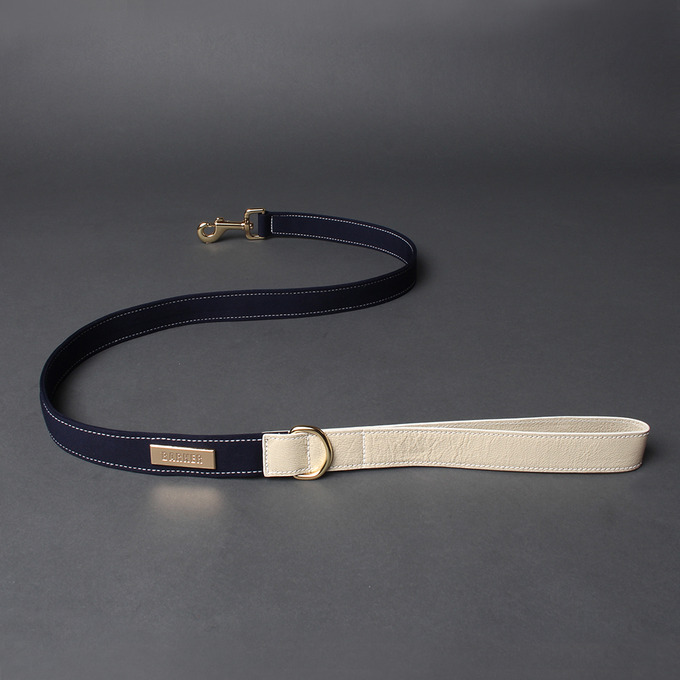 Neoprene Leash (Navy)