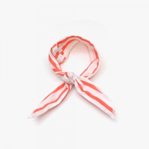 Wire Cooling Scarf (Bold Stripe Red)
