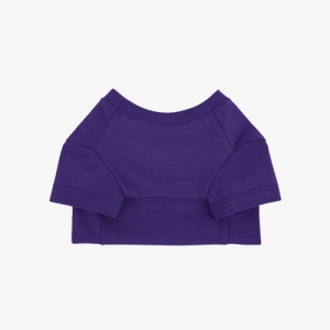 Cotton T-Shirt Violet