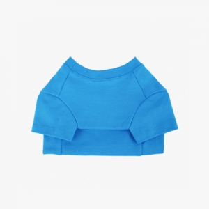 Cotton T-Shirt Blue