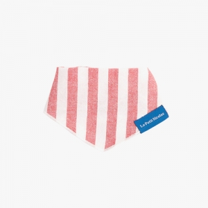 Nicola Stripe Scarf(Red)