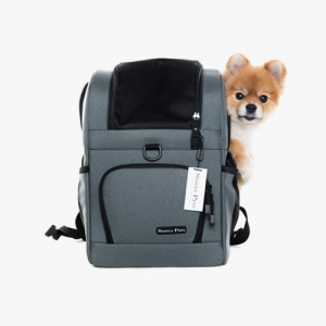 심플리펫 트래블백팩 THE TRAVEL BACKPACK (Frosty Grey)