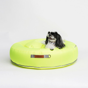 Tube Bean Bag Cushion_Shine Lime