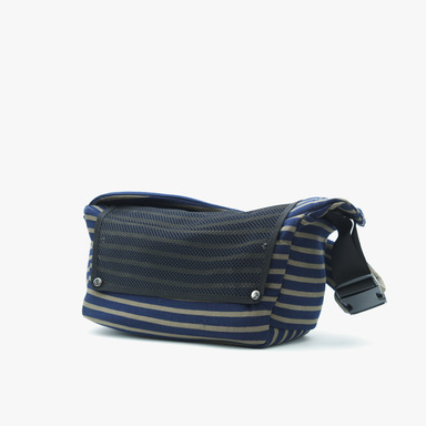 Daily Slingbag - (Stripe navy)