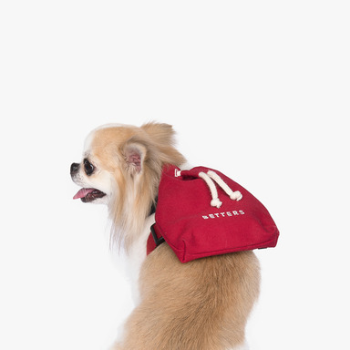 Bucket Backpack (Red)