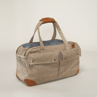 WE ARE TIGHT_Bag (Velvet beige)