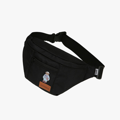 1992 Bear Waist Bag (Black)