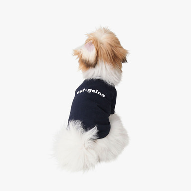 Dog Personality T-shirt (Navy)