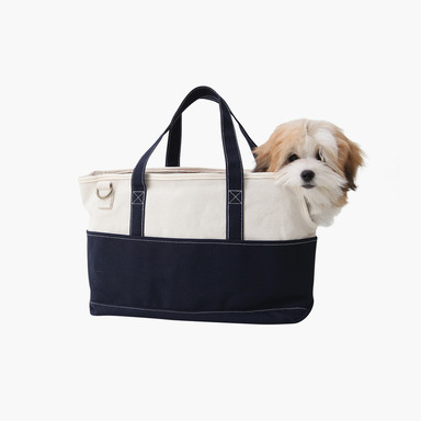 Pofen Canvas Tote Bag (Navy)