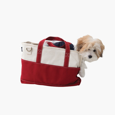 Pofen Canvas Tote Bag (Red)