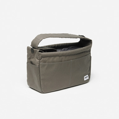 Classic Canvas Sling Bag (Gray)