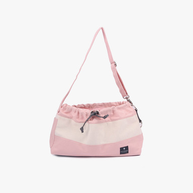 Dog Messenger Bag (Light Pink)