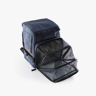 Inside Backpack (Silver Black)