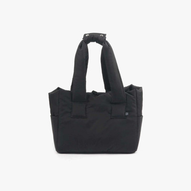 Padded Shoulder Bag (Black)