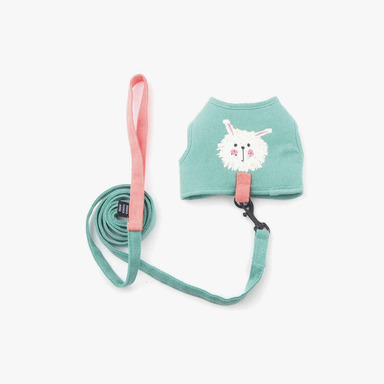My Dog Cotton Harness (Mint)