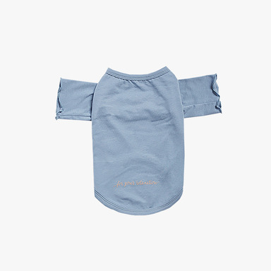 바리 Relaxation Lounge Tee (Baby Blue)