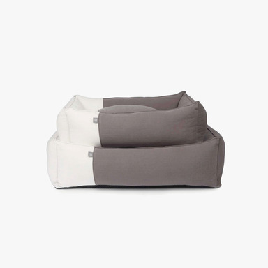 몽슈슈 We Love Linen Bed (Black)
