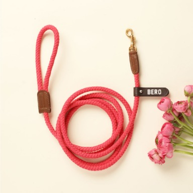 웁시데이지 Long type Smart Leash (Hot pink)