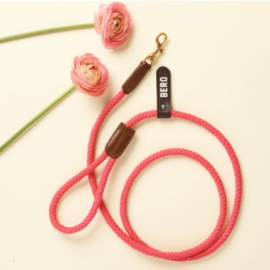 웁시데이지 One tone Smart Leash (Hot pink)