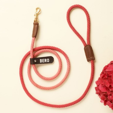 웁시데이지 Two tone Smart Leash (Cherry blossom)