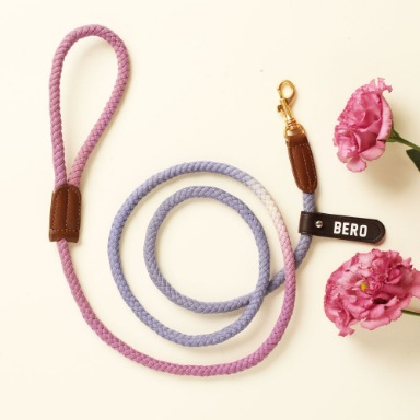 웁시데이지 Long type Smart Leash (Lavender garden)