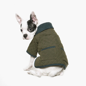 Quilted Padding Jacket (Khaki)