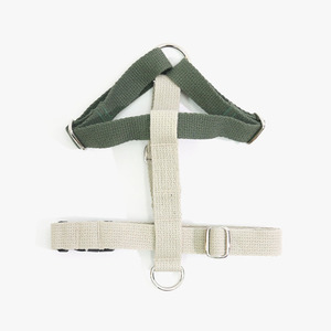 Color Block Harness (Tan-Olive)