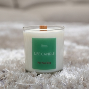 "with Your Dog ""Life Candle"" - Refreshing"