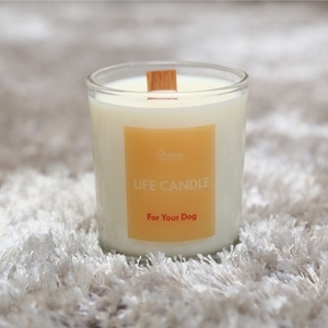 "with your dog ""Life Candle"" - Relaxing"