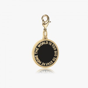 THE WORLD IS TOO BIG 2nd EDITION - BLACK GLOSSY GOLD BRASS