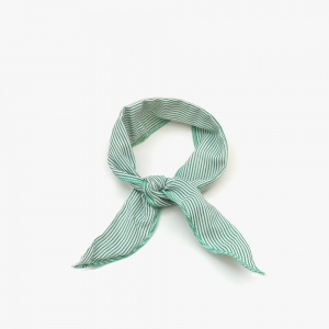Wire Cooling Scarf (Stripe Green)