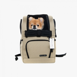 심플리펫 트래블백팩 The Travel Backpack (Golden Beige)