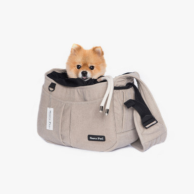 심플리펫 슬링백 Carry Me Sling (Oatmeal Beige)