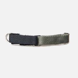 Color Block Collar (Navy-Olive)